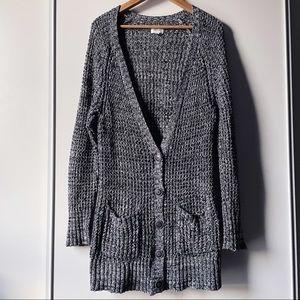 American Eagle long sleeve chunky knit cardigan XL